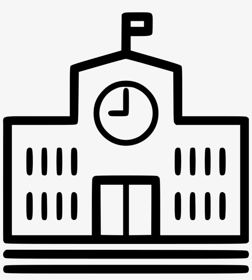 Building Comments - School, transparent png #4363948