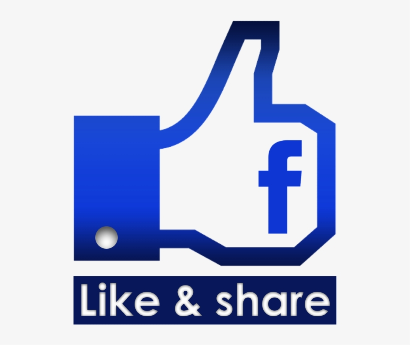 Free Download High Quality Vector Facebook Like Hand - Facebook Like Icon Black, transparent png #4365962