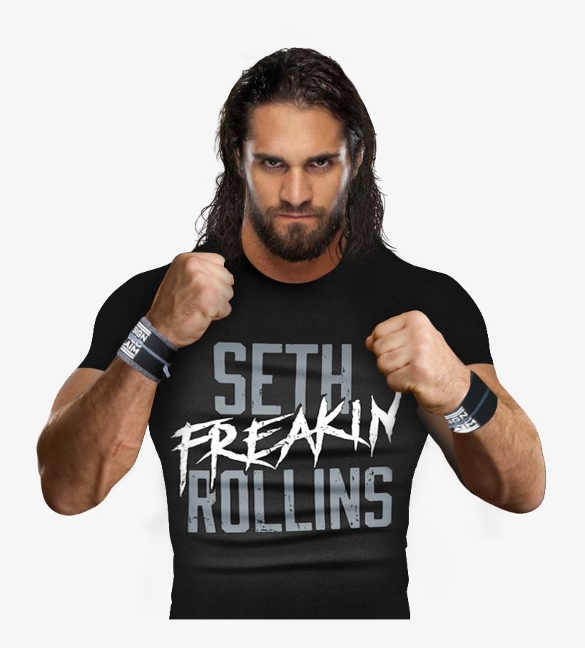 Seth Rollins Wrestling Png - Seth Rollins Seth Freakin Rollins Authentic T-shirt, transparent png #4371769