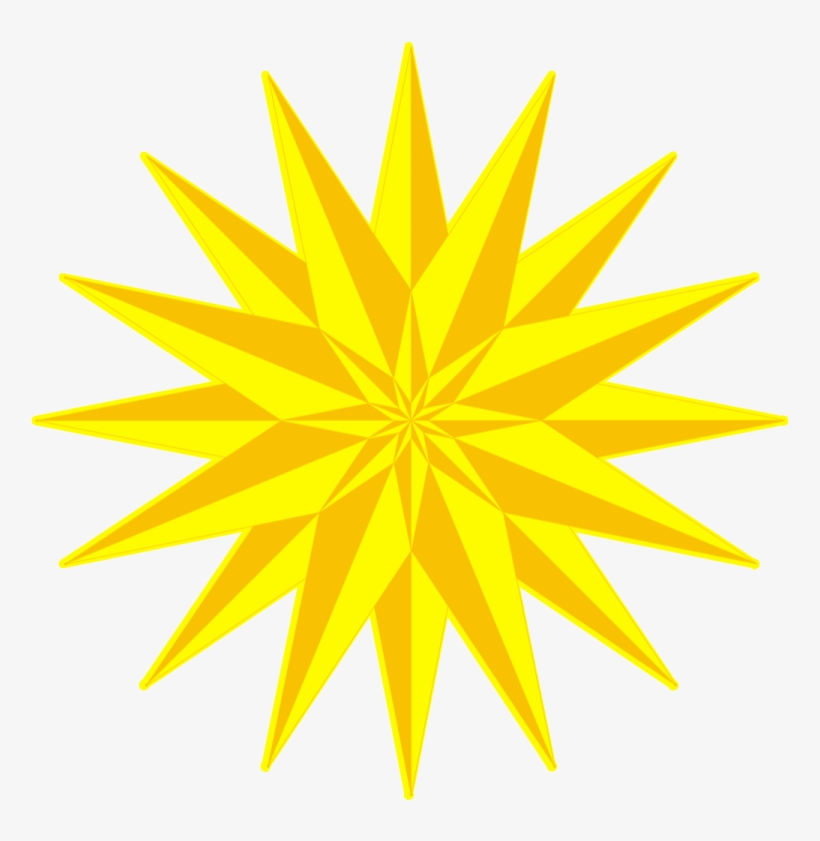 Yellow 3d Star Png - 3d Color Png Background, transparent png #4371824
