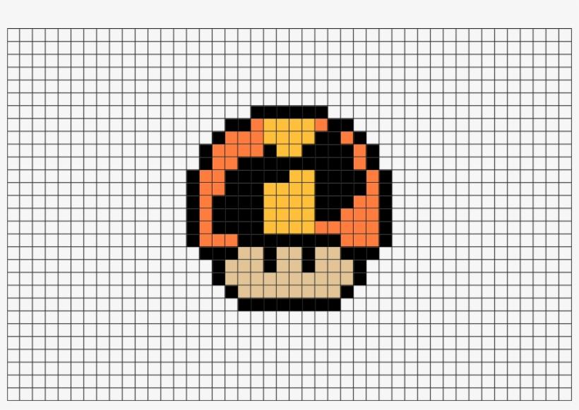 Pixel Art Mushroom Free Transparent Png Download Pngkey