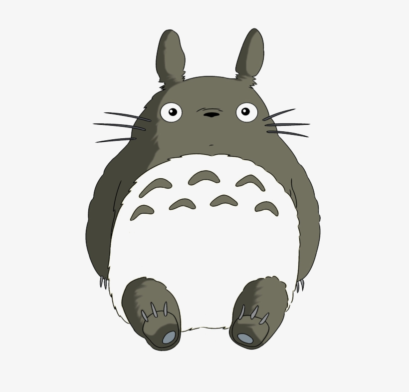 Cute Totoro Tumblr Download Japanese Most Popular Cartoon Free Transparent Png Download Pngkey