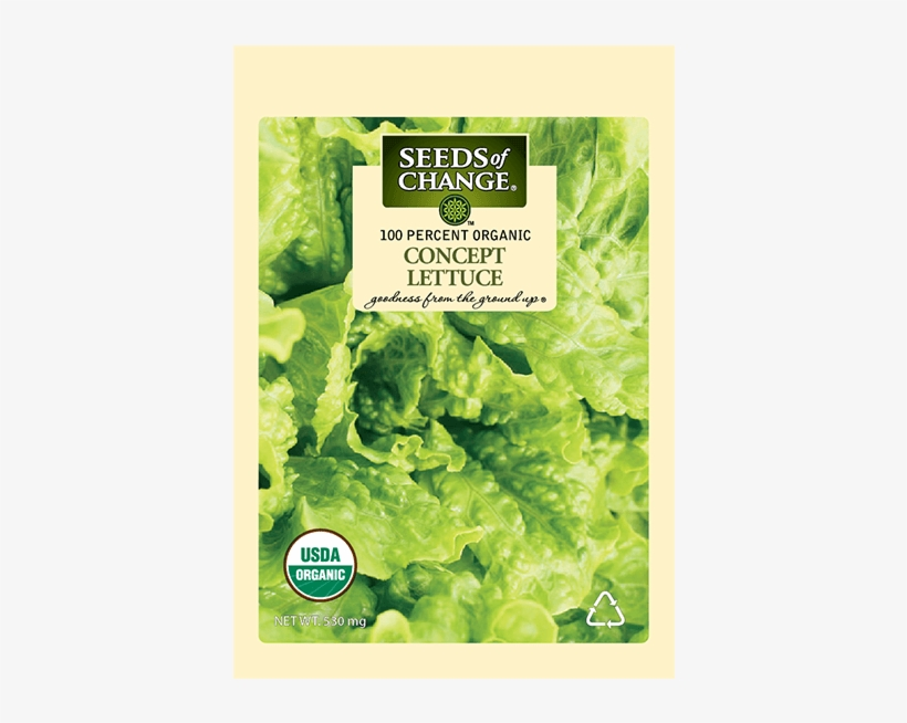Organic Concept Lettuce Seeds - Seeds Of Change 21076 Organic Zesty Cln Quinoa Blend, transparent png #4378838
