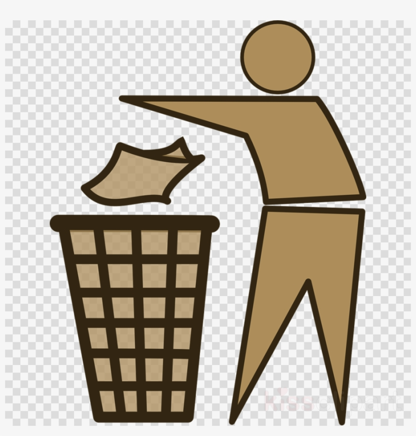 Trash Logo Png Clipart Rubbish Bins & Waste Paper Baskets - Tidy Man, transparent png #4380427