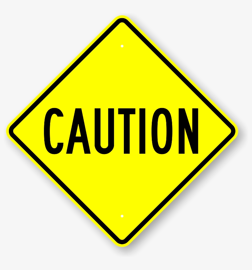 Albany Police Investigate Central Avenue Crash - Caution Signs, transparent png #4380705