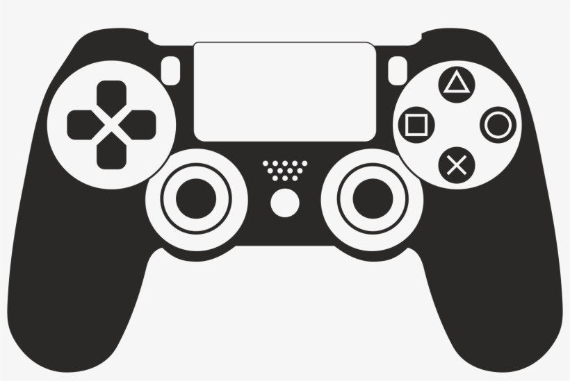 Ps4 Controller Vector - Ps4 Controller Icon Vector, transparent png #4381099