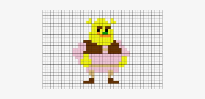 Shrek Pixel Art, transparent png #4383799