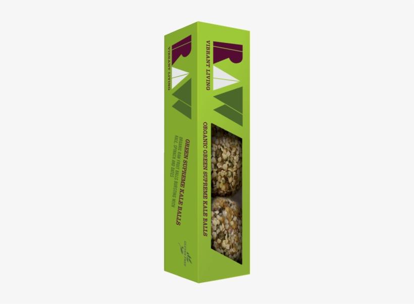 Raw Organic Green Supreme Kale Balls Image - Raw Health Organic Energy Balls Lemon And Chia Seed, transparent png #4384322