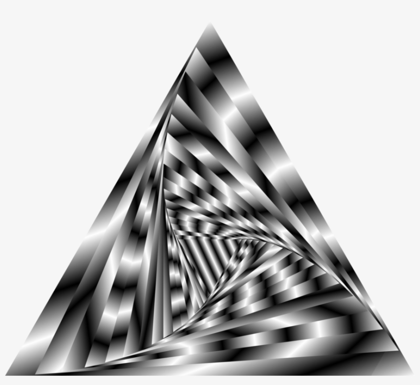 Triangle Computer Icons Geometry Vortex - Triangle Vortex Png, transparent png #4384620
