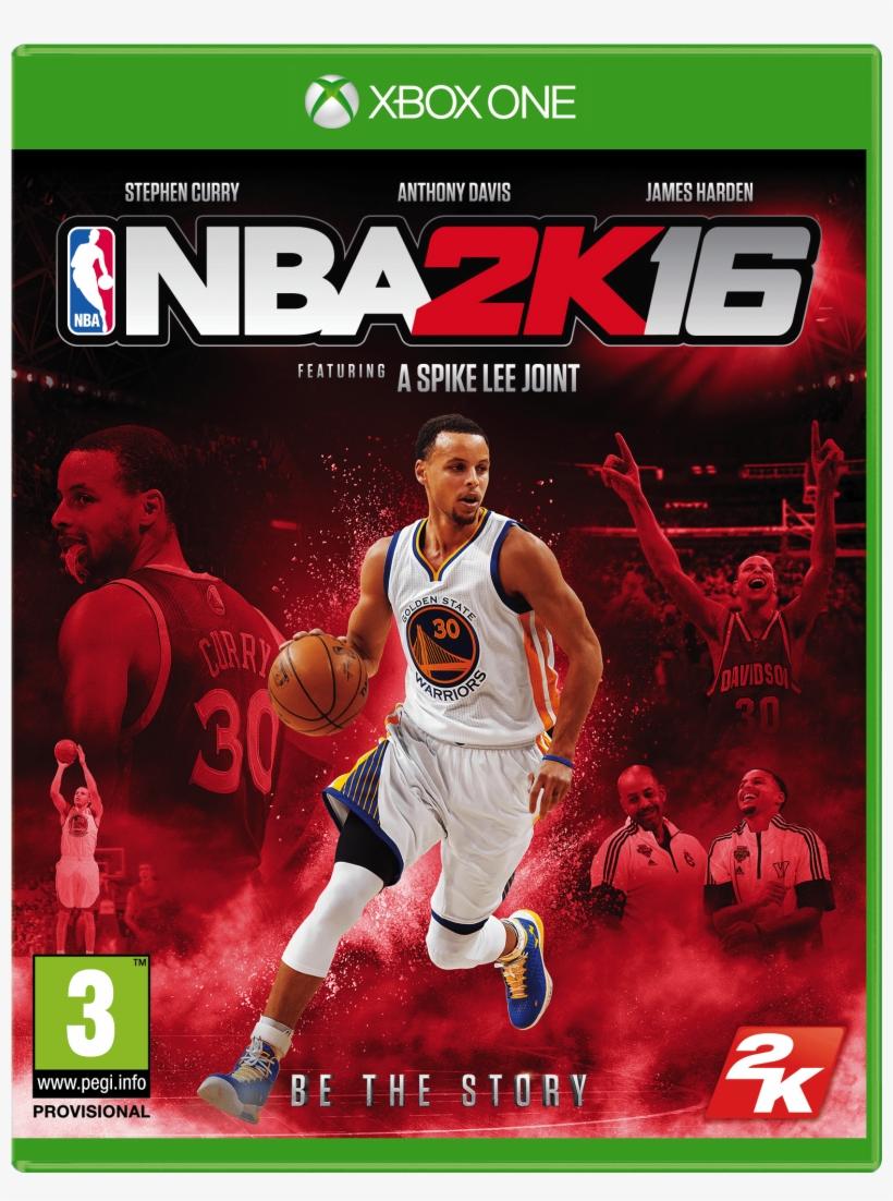 Nba 2k16 Xb1 Fob Curry Eng - 2k Games Nba 2k16 Xbox One, transparent png #4385007