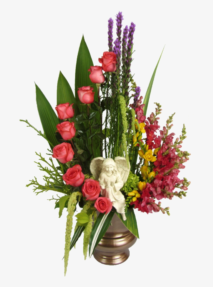 Stairway To Heaven Arrangement - Funeral Plant Flower Arrangements, transparent png #4385014