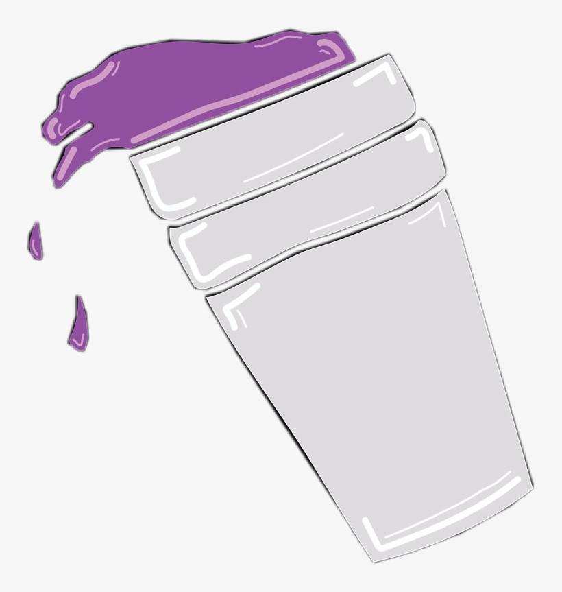 Lean Cup Purple Purplecup Codein Freetoedit Double Cup