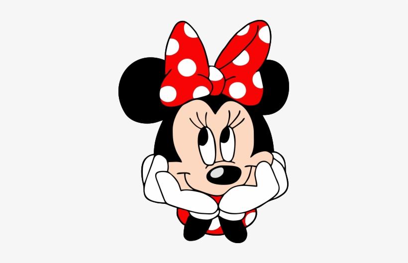 Rosto Minnie Png Minnie Vermelha Free Transparent Png Download