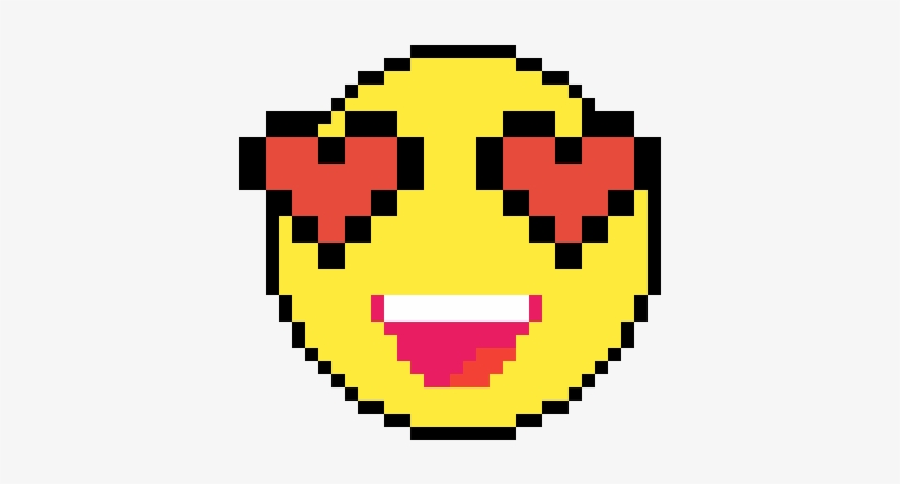 Pixel Art Facile Smiley Iphone