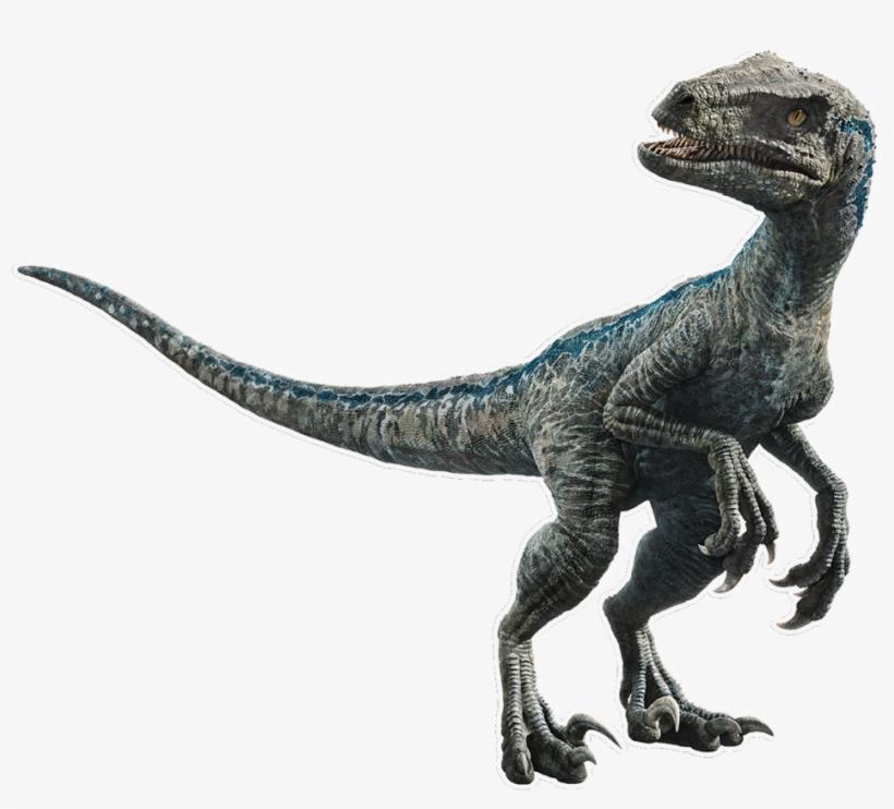 Blue The Velociraptor V5 By Sonichedgehog2 - Dinosaurio Blue Jurassic World, transparent png #4394593