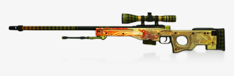 Added A New Cover Image - Awp Dragon Lore  png - Free