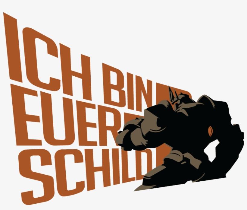 I Am A Reinhardt Main For My Comp Team So I Wanted - Reinhardt I Am Your Shield Spray, transparent png #4396988