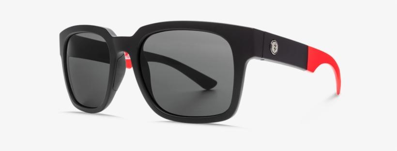 Electric Zombie S Buttsy Sunglasses - Electric Zombie S Ee16801084 Black Women/men Sunglasses, transparent png #4397813