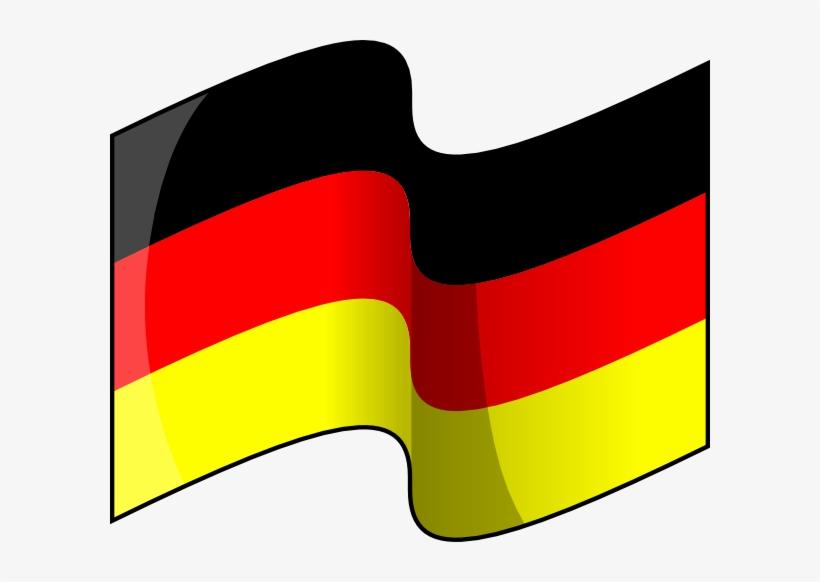 Waving American Flag Clip Art Png Download - Clip Art German