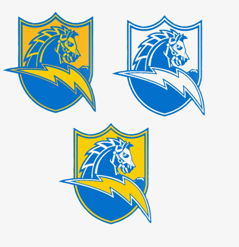 I Did Some Powder Blue Color Swaps Of My Favorite Charger - Chargers Powder Blue Logo, transparent png #441480