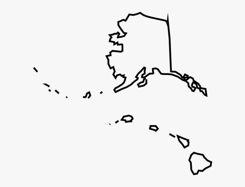 Blank Alaska Map.Clip Library Alaska Vector Blank Map Of Alaska And Hawaii Free