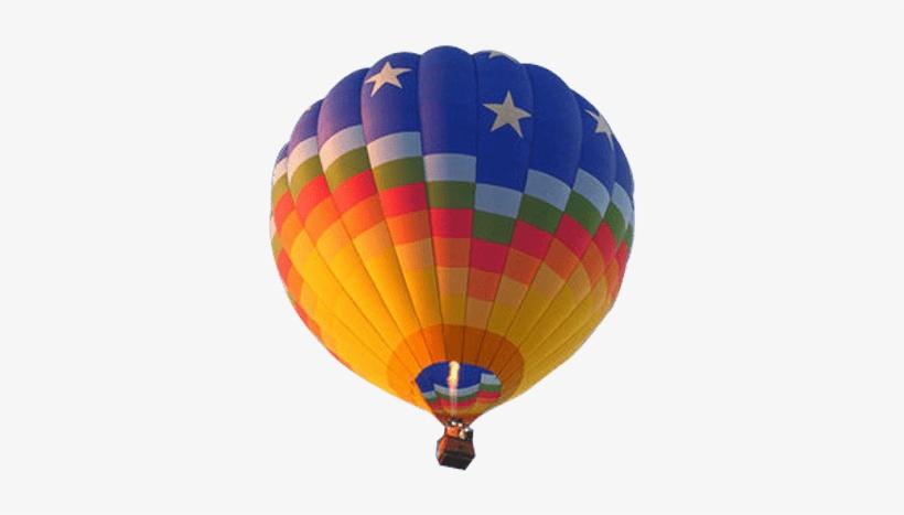 Hot Air Balloon From Below - Hot Air Balloon Transparent, transparent png #443839