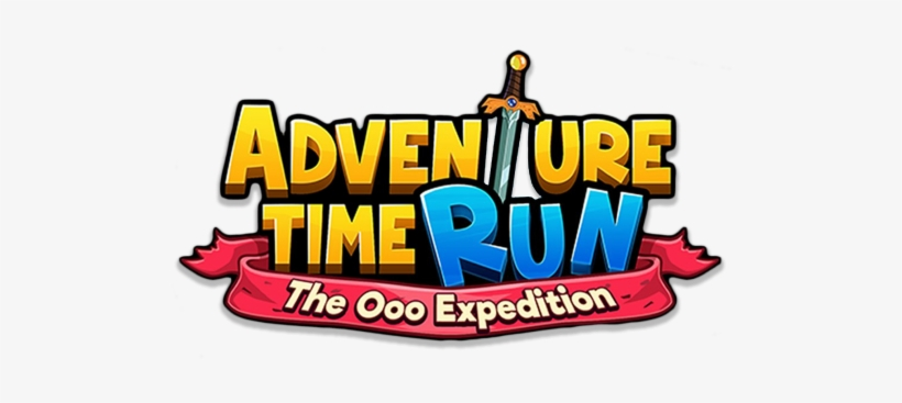 Adventure Time Run Logo, transparent png #444211