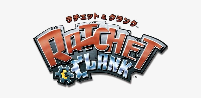 Ratchet Clank Ratchet E Clank Logo Free Transparent Png Download Pngkey