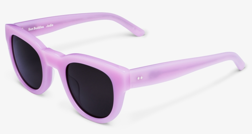 Milky Vintage Inspired Slightly Thicker Frame In Pink, - Sun Buddies Acetate Jodie Sunglasses-pink Panther, transparent png #445483