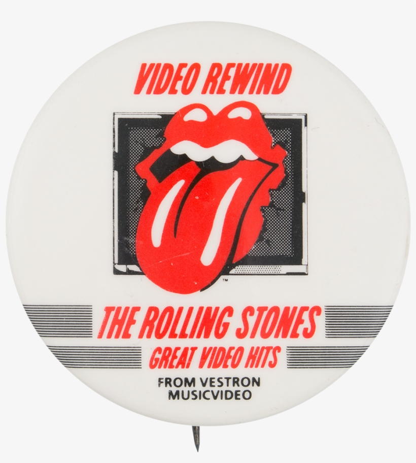 Rolling Stones Great Video Hits - Rolling Stones Tongue, transparent png #446349