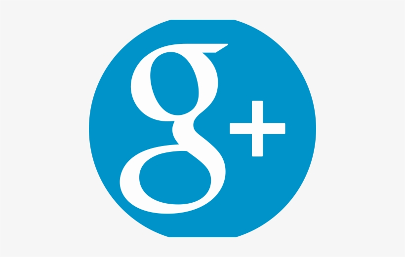 Celec Google Plus - Icon Google Plus Blue, transparent png #446878