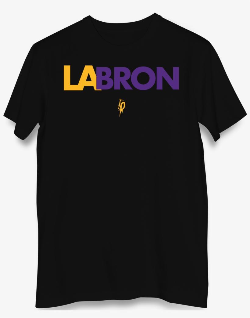 Lebron James Los Angeles Lakers - Active Shirt, transparent png #447143