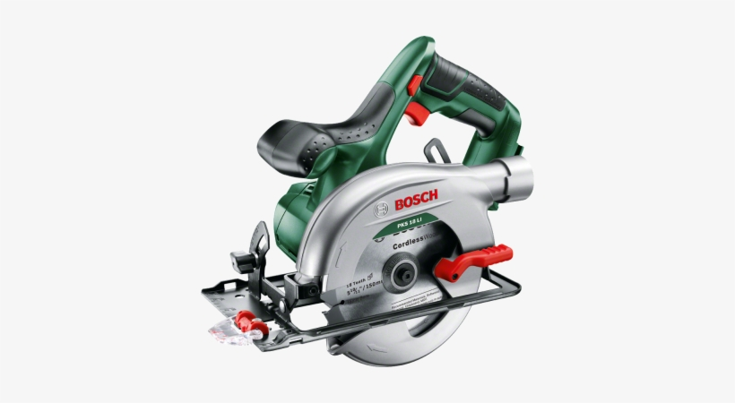 Cordless Circular Saw Pks 18 Li - Bosch Pks 18 Li Lithium-ion Cordless Circular Saw, transparent png #449357