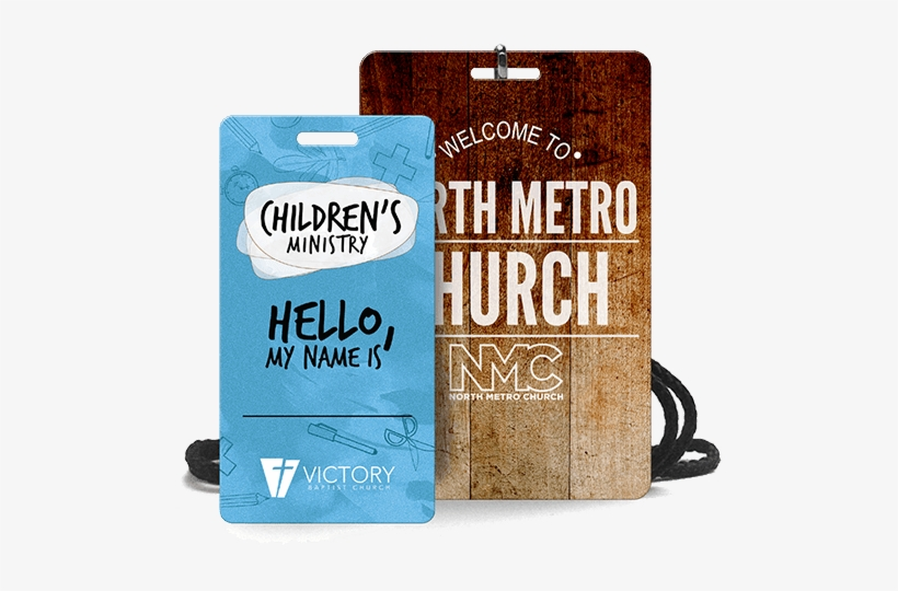 Children's Ministry & North Metro Church Retreat Event - Church Volunteer Name Tags, transparent png #449359