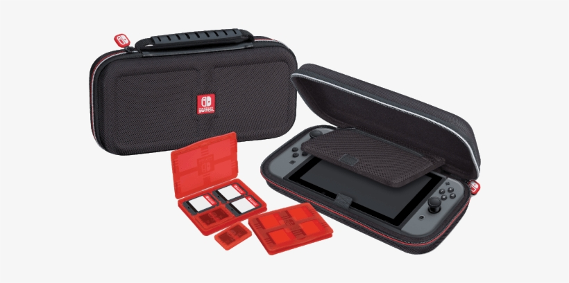Does The Switch Really Warp/bend Though - Nintendo Switch Game Traveler Deluxe Case, transparent png #4403757