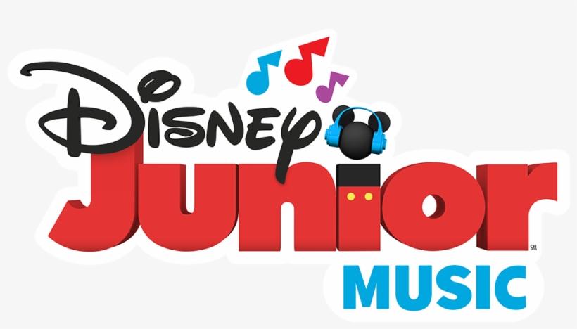 The First-ever Disney Junior Music Radio Station Launches - Disney Junior Music Logo, transparent png #4405726