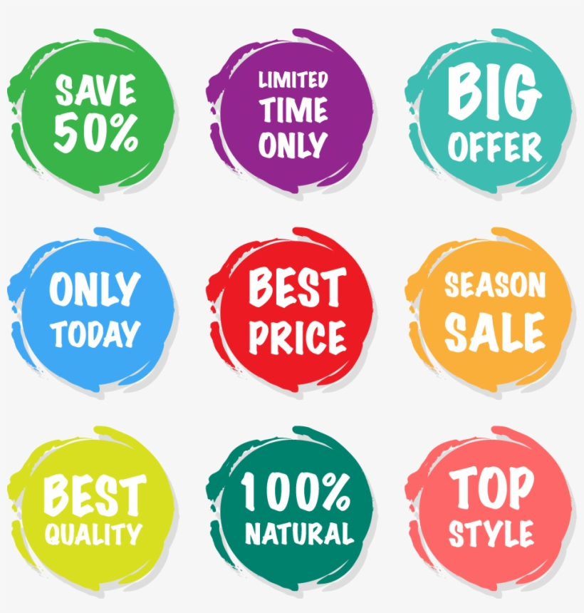 Sales Sticker Price Tag - Sale Stickers, transparent png #4408222
