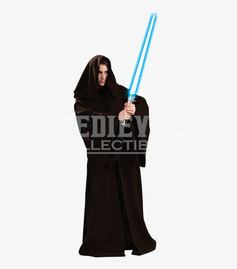 Super Deluxe Adult Jedi Knight Robe - Sith Lord Robe Costume, transparent png #4409311