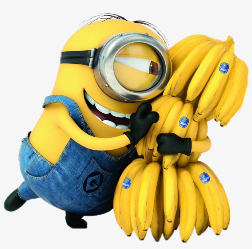 Meu Malvado Favorito Minions E As Bananas Png Minions Com Banana