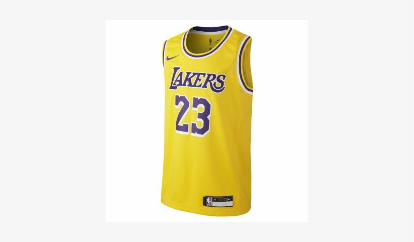 the best attitude b7b3e aea48 Lebron James Los Angeles Lakers Nike Icon Edition Swingman ...