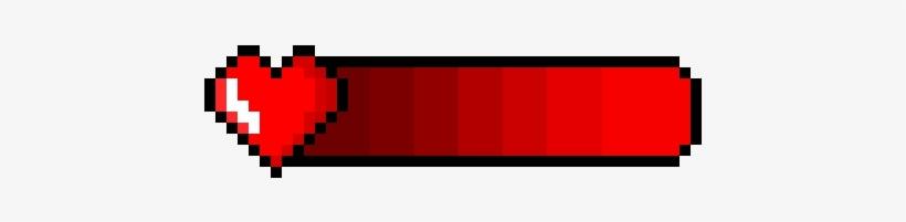 Health Bar - Exit Button Pixel Art, transparent png #4414310
