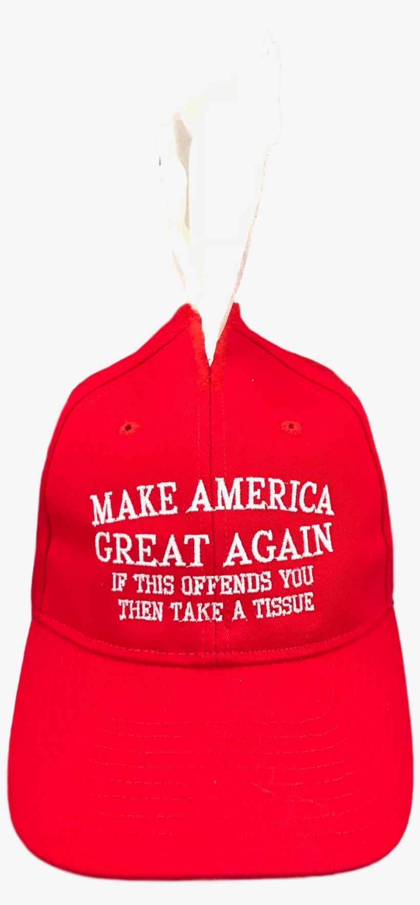 Easily Offended Tissue Hat Box Cover Make America Great - Baseball Cap, transparent png #4414886