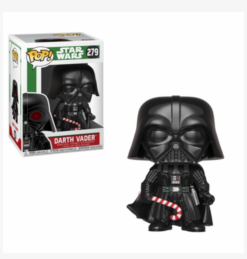 Darth Vader 279 Holiday Funko Pop - Funko Pop Star Wars Darth Vader, transparent png #4415066