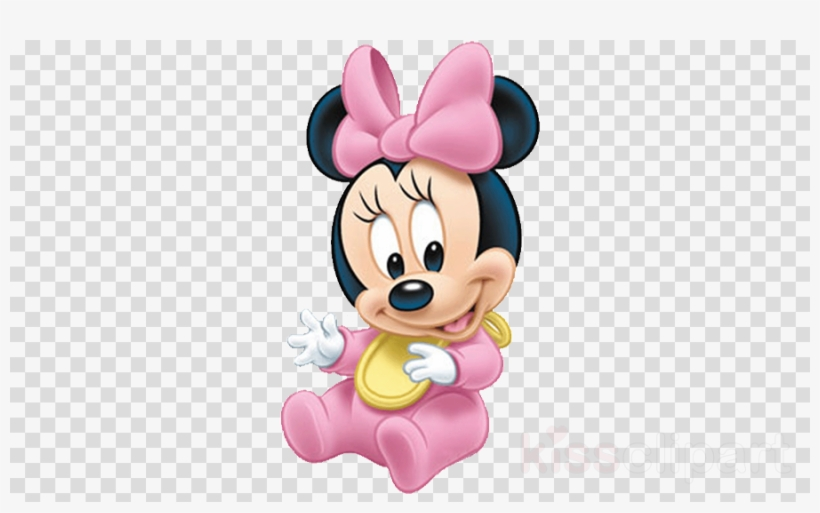 Baby Minnie Mouse Png Clipart Minnie Mouse Mickey Mouse - Imagenes De La Minnie Bebe, transparent png #4415486