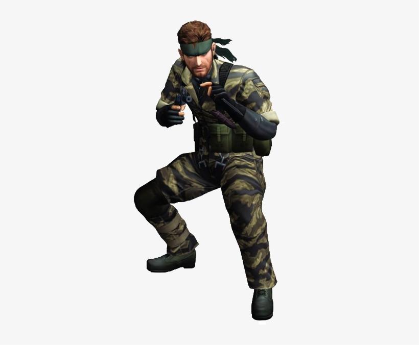 Metal Gear Solid Snake - Snake Metal Gear Png, transparent png #4415814