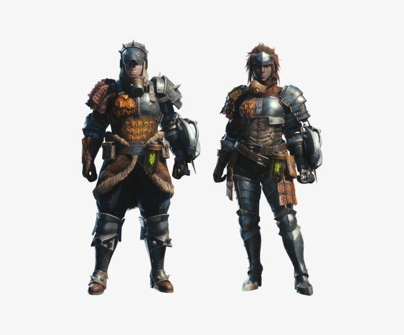 Monster Hunter World Armor Male Free Transparent Png Download Pngkey