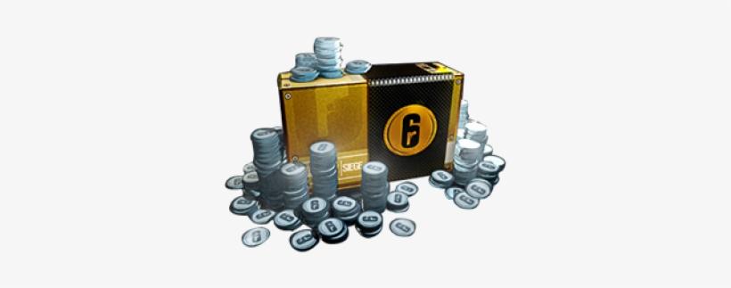 12000 Credits 4000 Free - R6 Credits Png - Free Transparent