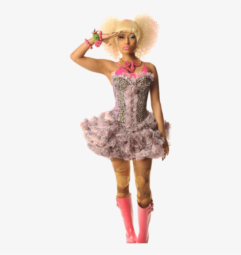 Music Stars - Nicki Minaj, transparent png #4417956