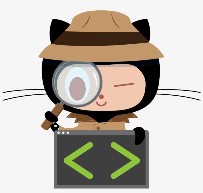 Github Octocat Png Github Inspectocat 896 - Github Hack - Free Transparent  PNG Download - PNGkey