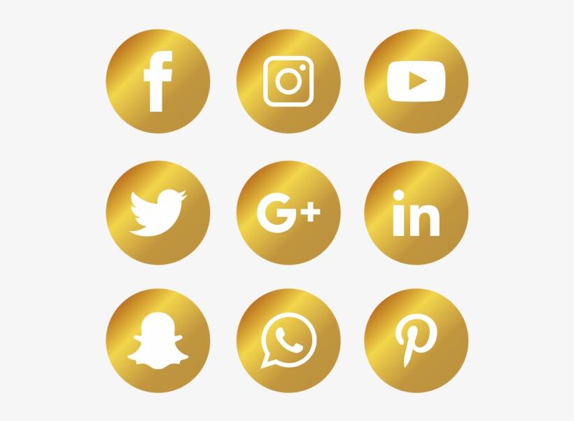 Social Media Icons Set - Logo Facebook Instagram Whatsapp Vector, transparent png #4426936